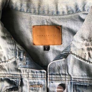 Sanctuary Jackets & Coats - Woman's Distressed Sanctuary Jean Jacket